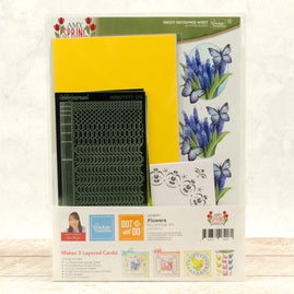 Dot & Do 3D Push Out Kit - Amy Spring Design - Flowers