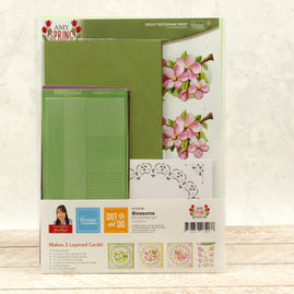 Dot & Do 3D Push Out Kit - Amy Spring Design - Blossom
