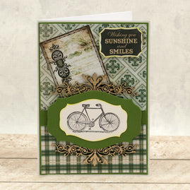 Paper - 12 x 12in - Gentlemans Emporium Sheet 3 - 304.8 x 304.8mm | 12 x 12in