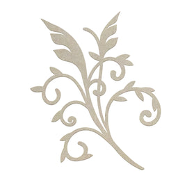 Chipboard - Gentlemans Emporium - Gentlemans Flourish (1pc) - 50 x 77mm
