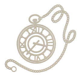 Chipboard - Gentlemans Emporium - Pocket Watch (1pc) - 80 x 75mm