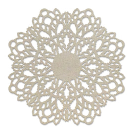 Chipboard - Spring Doily (1pc) - 75 x 75mm | 2.9 x 2.9in
