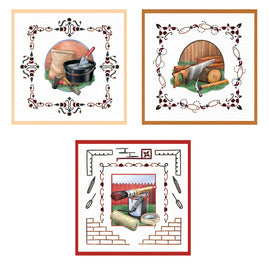 3D Diecut Decoupage Set - Amy Spring - Its a Mans World - Handy Men