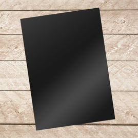 * A4 Adhesive Vinyl 10 sheets per pack - BLACK