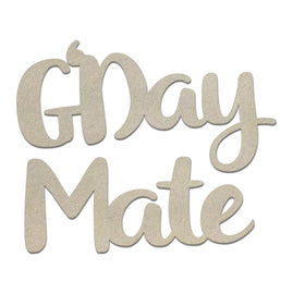 Chipboard - Sunburnt Country - G'Day Mate Set (2pc)