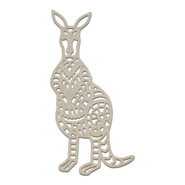 Chipboard - Sunburnt Country - Traditional Kangaroo (1pc)