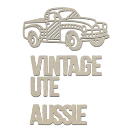 Chipboard - Sunburnt Country - Vintage Ute Set (3pc)
