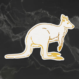 Cut, Foil and Emboss Die - Sunburnt Country - Kangaroo (1pc)