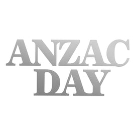 Mini Die - Lest We Forget - Anzac Day (1pc) - 48 x 48mm | 1.8 x 1.8in