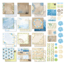*Collection Pack - 12 x 12 - New Adventures - (12 Sheets, Sticker set and 6 Postcards)