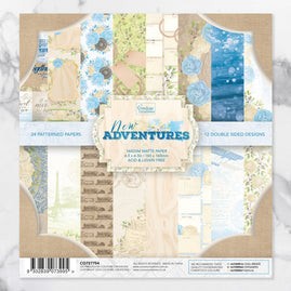 *Paper Pad - 6.5 x 6.5 - New Adventures (24 sheets)