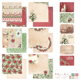 *Collection Pack - The Gift of Giving - 12 x 12in - 12 sheets | 6 postcards | sticker set