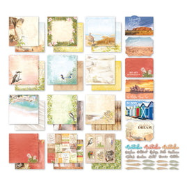 *Collection Pack - 12 x 12 - Sweeping Plains - (12 Sheets, Sticker set and 6 Postcards)