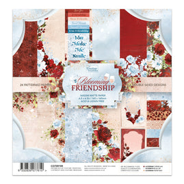 Paper Pad - Blooming Friendship 6.5 x 6.5 (24 sheets)