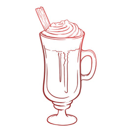 Mini Stamp - Blooming Friendship - Tall Hot Chocolate (1pc)