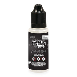 Stayz in Place Alcohol Ink Pad 12ml Reinker - Jet Black