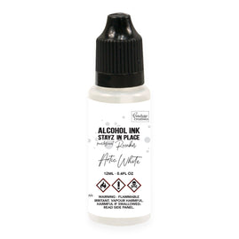 Stayz in Place Alcohol Ink Pad 12ml Reinker - Arctic White Pearlescent