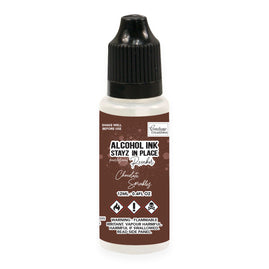 Stayz in Place Alcohol Ink Pad 12ml Reinker - Chocolate Sprinkles Pearlescent