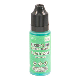 A Ink Glitter Accents Turquoise - 12mL | 0.4fl oz