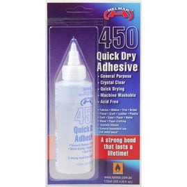 Adhesive - 450 Quick Dry Glue (125ml)