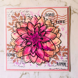 Stamp and Die Set - Blooming Friendship - Blooming Flower Layered (5pc)