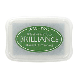 Brilliance - Ink Pad - Pearlescent Thyme