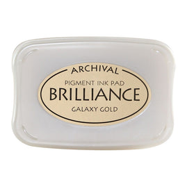 Brilliance - Ink Pad - Galaxy Gold