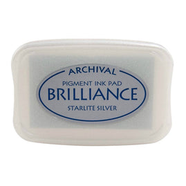 Brilliance - Ink Pad - Starlite Silver