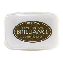 Brilliance - Ink Pad - Lightning Black