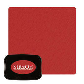 Staz On - Solvent Ink pad - Black Cherry