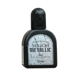 Staz On - Metallic Refill - Silver