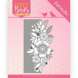 Dies - Jeanine's Art - Happy Birds - Flower Edge