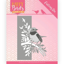 Dies - Jeanine's Art - Happy Birds - Bird Edge