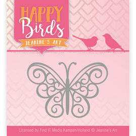 Dies - Jeanine's Art - Happy Birds - Happy Butterfly