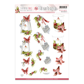 A4 Decoupage Sheet - Precious Marieke - Charming Christmas