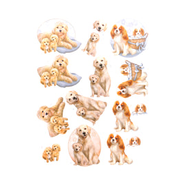 3D Diecut Decoupage Pushout Kit - Amy Design - Dog's Life - Dog Mommy