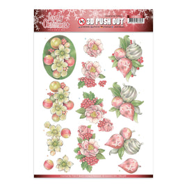 A4 Decoupage Sheet - Jeanine's Art - Lovely Christmas - Lovely Ornaments