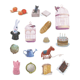 Stickers - SU - At Home Set A4 (15pc)
