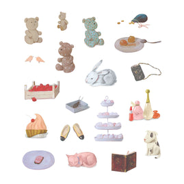 Stickers - SU - High Tea Set A4 (19pc)
