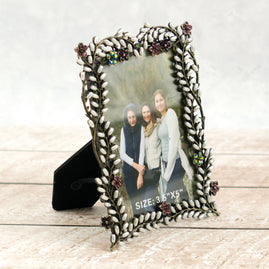 x x Delicate Photo Frame (3.5 x 5in) - Bohemian Bouquet