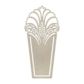 Chipboard - Ritzy Clip Decorative (1pc) - 70 x 34mm | 2.7 x 1.3in