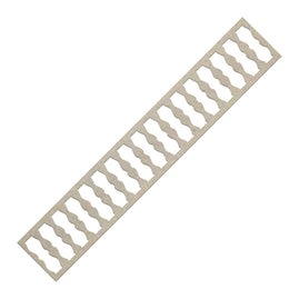 Chipboard - Banisters Border (1pc) - 150 x 26mm | 5.9 x 1in