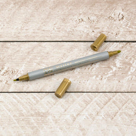 Writer Pen - Metallic Gold (1mm/1.2mm)
