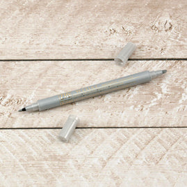 Writer Pen - Metallic Silver (1mm/1.2mm)