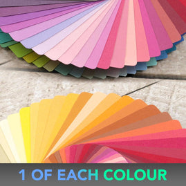 *12 x 12 CARDSTOCK PACK - 87 colours 1 pack of each colour