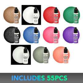 * CO Glitter Alcohol Ink Special - 4+1 ea inks (11 colours) - Once only per store