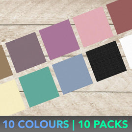 *A4 CARDSTOCK KITSET (10 COLOUR PACKS | 100PC)