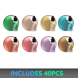 * CO Metallics Alcohol Ink Special - 4+1 ea inks (8 colours) - Once only per store