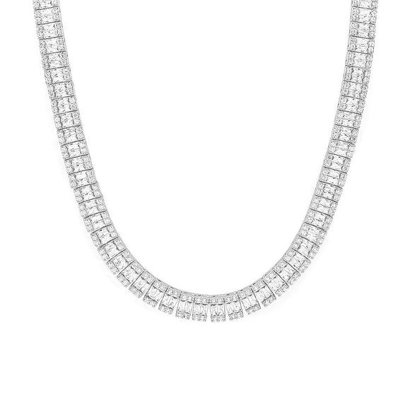 Omega Diamond Necklace