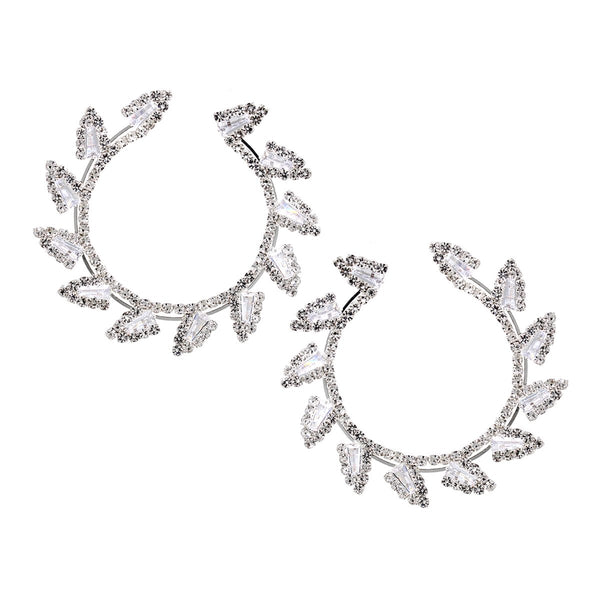 Pave Wreath Earrings